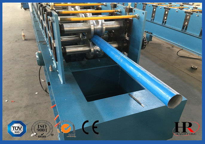 Galvanized Down Pipe Roll Forming Machine Unique High Speed